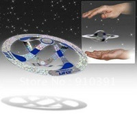 Wholesale Paper Magic Tricks floating UFO Magic suspended UFO Mystery Floating Flying Saucer UFO Toy Magic tricks toys