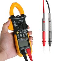 ac duty cycle - HYELEC MS2108A Digital Clamp Multimeter AC DC Voltage and Current Resistance Capacitance Frequency Duty Cycle Tester