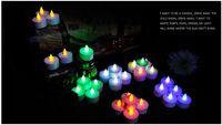 Wholesale 2015 LED candle light colorful romantic wedding atmosphere candle light candle lights Nightlight LED multicolor