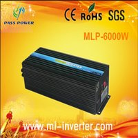 Cheap 2014 Hot Sale, Off-grid 12v to 220v 6000w 6kw Solar Inverter   Inverter 12v 220v for air conditioner,ice cream machine and water pumb
