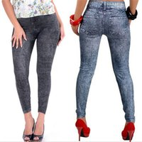 Wholesale Hot Selling Newest Arrivals Sexy New Women Jean Skinny Jeggings Stretchy Slim Leggings Fashion Skinny Pants KX45