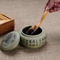 bamboo tea spoon - new natural Bamboo tea spoon Kung Fu Tea Shovel teaspoon Chinese Kungfu tea accessories tools ss1359