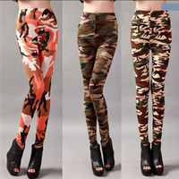army camouflage for sale - Newest Army Camouflage Leggings for Women Modal Elastic Skinny Leggings Best Sports Fitness Leggings for Sale A11
