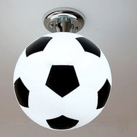 Wholesale Fashion Boy s Room Football Ceiling Lamp Cute Cartoon Children s Bedroom Ceiling Lights Baby Room Ceiling Lamps Fixtures