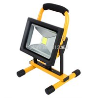ac trouble - H06 W Portable Rechargeable Cordless LED Work Light Flood Light Durable Waterproof Emergency Light Trouble Light