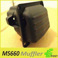 stihl chainsaw - Muffler for STIHL MS MS660 Chainsaw Chain Saws Chainsaw Accessories