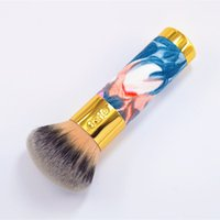 airbrush leather - new style TARTE the buffer airbrush finish bamboo covered leather foundation brush for beauty