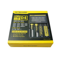 Wholesale Hot Nitecore D4 Universal Charger SYSMAX Version CR123A Li ion NiMH Battery in Intellicharger