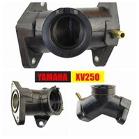 Wholesale OEM motorcycle parts carburetor intake manifold gasket XV250 XVS250 carburetor rubber socket V digital interface XV125 rubber