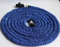 Wholesale Garden Pipe Expandable Flexible hose Blue Water Pipe FT FT FT FT Garden hose Car Wash Water Pipe