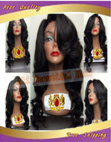 #1#1b#2#4#6#8 in stock Brazilian hair Body Wave Free shipping Grade 6A Brazilian virgin human hair wigs silk top lace front wig & glueless full lace wigs with baby hair for black women
