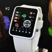 led watches - Minecraft Fashion LED Watches Watch Touch Srceen Wristwatches Night boys girls Light White or Black Clock Quartz Women Digital