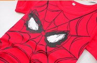 Wholesale 5pcs spider man summer the lowest price boys girls shirts for years child kids boys girls t shirt children clothing