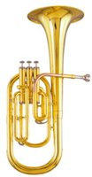 Wholesale Brass pistons Alto Horn in Eb Tone Musical instruments With ABS case Factory Supply