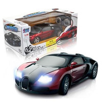Wholesale 1 rechargeable version of the full scale four channel wireless remote control car drift speed Children s RC Toys