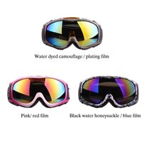 Wholesale Quality Skiing Eyewear Ski Glass Goggles Snowboard Double Layer Men women Snow Glasses Ski Googles Fashion Colors Available Y1822