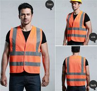 ansi classes - New Material Fashion design clothes yellow Safety Vest with Reflective Strips ansi class safety vest