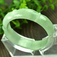 Bangle jade bangle - Fashion Design Carved Jade Bangle
