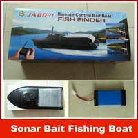 Boats big fish finder - Newest JABO BL JABO BS Sonar Bait Fishing Boat w Fish Finder Upgraded Jabo B DHL