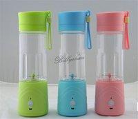 Wholesale Rechargeable Juice Cup Mini Extractor Portable Juice cup Portable fruits Extractor Creative Water Bottle Electric Juice cup bottles D271