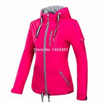 Wholesale 2016 Spring Women fashionable Sports jacket waterproof fabric B3056 outdoor jacket Thin coat FREE GIFT one gloves