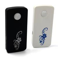Wholesale DHL GSM Magnetic Door Alarm Door Window Magnetic Sensor Dector Anti theft Alarm Wireless Remote Control iPhone Android White Black Color