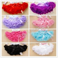 baby petti skirts - Baby Girl Fluffy Pettiskirt Girls Tutu Skirt Hot sell Kids princess Petti skirt A6076