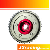 adjustable cam pulley - J2 STORE Adjustable Cam Gear Alloy Timing Gear FOR HONDA SOHC D15 D16 D SERIES ENGINE CAM PULLEY PULLYS GEARS RED PQY6542R