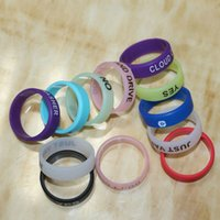silicone finger cover - New Design Silicone Ring anti slip silicon finger vape band beauty covering rubber ring for mechanical mod e cig