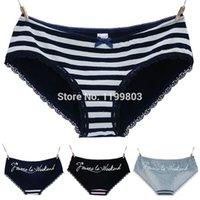 anime girls underwear - Cute Women Girl Anime Style Intimate Panties Blue Pink amp Green Striped Underwear Accessories VQ315