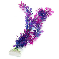Wholesale New and High Quality Purple Blue Artificial Water Plants for Fish Tank Aquarium Decoration Ornament
