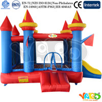 Wholesale YARD residential bounce house bouncy castle inflatable bouncer jumper trampoline moonwalk with blower