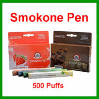 disposable cigarette - 2015 Smokone Portable Ehookah E Shisha Pen Puffs Smok One E Hookah E Shisha Disposable Electronic Cigarettes