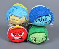 articles games - New Inside Out Plush Style Q Version Doll cm Toy Clean The Screen Pendant Furnishing Articles Children S Gift Head Dolls