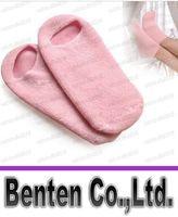 Wholesale Gel SPA gel socks plant essential oil foot skin whitening moisturizing skin care beauty sock sock foot boat socks LLFA4394F