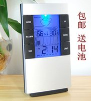 Wholesale Mail Pack High Precision Electronic Thermometer Hygrometer Household Temperature Hygrometer Backlight Baby Room Temperature And
