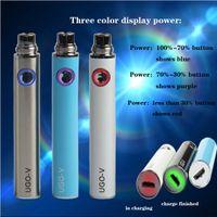 Wholesale Chargeable Cigarettes - 5pcs lot,Evod passthrough battery ugo-v e cigarette battery micro 5pin chargeable battery evod battery
