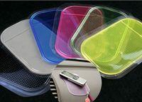 Wholesale PU Non Slip Mat Car Anti Slip Sticky Pad Anti slip Mats Sticky Pad Re Useable Washable Anti Slip Mat non slip pad for car dashboard