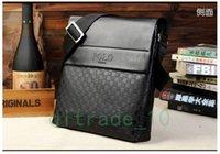 Wholesale 2 styles hot sale men bags men genuine leather messenger bag high quality man brand business handbag price Briefcases C1277