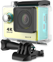 Wholesale Gopro Styal Original H9 Sport Camera Waterproof WIFI Action Sports Camera HD K FPS P HDMI inch LCD Diving M Helmet Camera