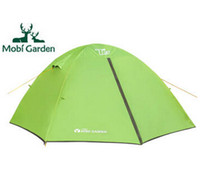 Wholesale Mobi Garden Outdoor Aluminum Pole Camping Tent Persons tienda camping
