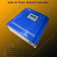 achat en gros de régulateurs de charge hybrides-régulateur de charge hybride solaire et éolienne 1KW hybride régulateur de charge 24v 1000w