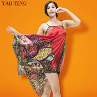 Wholesale 2014 Fashion Sexful Pajamas For Women Silky Thin Sleepwear New Brand Robe Womens Sling Nightgown Set