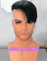 hair wigs for men - human hair swiss lace toupee for men
