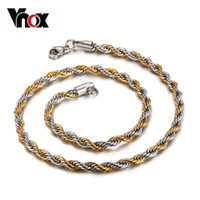 beaded chain mail jewelry - fashion cm twist chain necklace for diy pendant stainless steel men jewelry registration post air mail