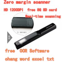 Wholesale MSI T4G portable scanner HD Zero margin book scanner dpi A4 color handheld mini Picture Magazine document scanning pen