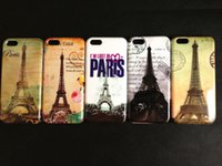 iphone 5c - 5pcs Paris Eiffel Tower Hard Back Case Cover Skin For iPhone C Shell