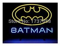 batman comics books - Hot Fashion Neon Sign New Batman Comic Book Hero Action Handcrafted Neon Light Sign Beer Bar Sign Film Advertisement Display quot x15 quot