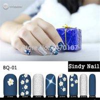 Wholesale Newest Hot Selling Nail Flash Sticker Mobile Sensors Nail Stickers NFC Smart Nail Patch Japanese LED Nail Sticker