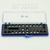 "Cheap 1 Box Dental Orthodontic Ceramic Bracket MBT 0.022"" 3 4 5with Hooks 5*5 PROMOTION"